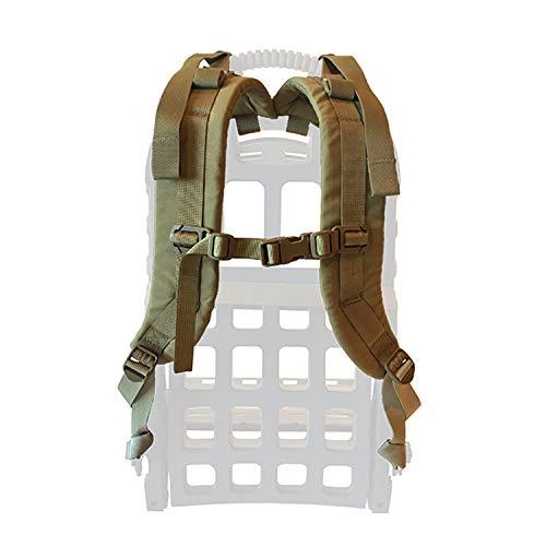 Pack Rabbit Scrambler Shoulder Strap Set | Adjustable, for External Frame and Carrier (Coyote Brown)