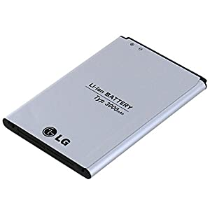 LG G3 Battery Standard Genuine Replacement Battery - 3000 mAh - Non-Retail Packaging - Gray