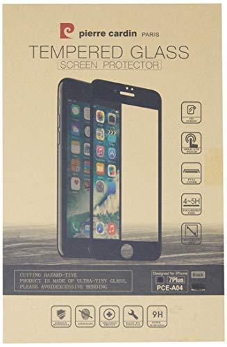 Película de Vidro 5D Tela Inteira Para Iphone 7 Plus Iphone 8 Plus, Pierre Cardin, PC10-01, Preto