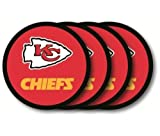 Kansas City Chiefs Official NFL Coaster Set by Duck House 481128