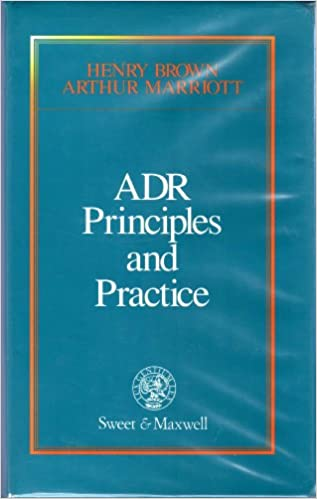 Adr principles and practice henry brown arthur marriott qc adr principles and practice henry brown arthur marriott qc 9780421462601 amazon books fandeluxe Images
