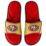 San Francisco 49ers NFL Mens Foam Sport Slide - M