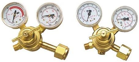 Hobart Oxygen LP Acetylene All stores New product! New type are sold Regulator with 2-Pa 510 CGA Fittings