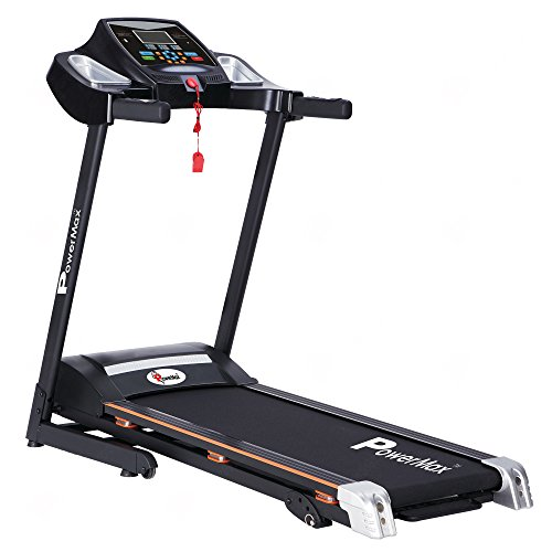PowerMax Fitness TDM-99 1.5HP (3HP Peak) Motorized Treadmill with Free Installation Assistance, Home Use & Automatic Programs