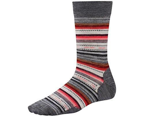 Smartwool Women's Margarita Socks (Medium Gray) Small