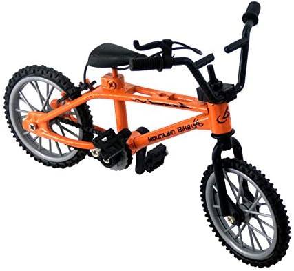 [해외]Gnc33Ouhen 118 Diecast Mini Finger Mountain Bike Bicycle Crafts Desktop Decor Kids Toy Cool Boy Toy Creative Game Toy Set Collections - Orange / Gnc33Ouhen 118 Diecast Mini Finger Mountain Bike Bicycle Crafts Desktop Decor Kids Toy...