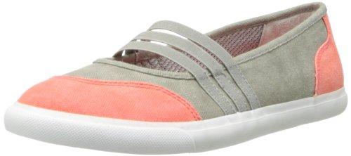 LifeStride Women's Inform Fashion Sneaker,Grey/Coral,9 M US