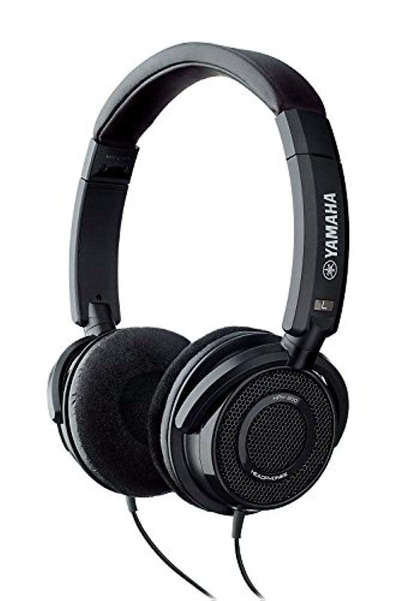 [해외] 야마하 YAMAHA 오픈 에어형 헤드폰 블랙 HPH-200 BK