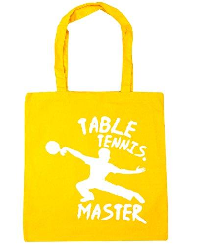 Beach Tote Shopping Table 10 HippoWarehouse x38cm 42cm Bag Tennis Gym litres Yellow Master TRwt6Y6q