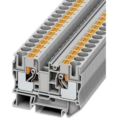 Amazon com: Din Rail Terminal Blocks Pt 10: Electronics