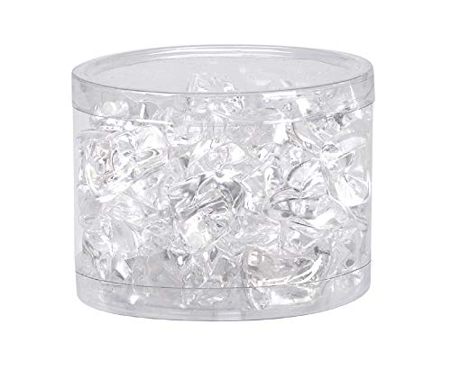 1IN CLEAR PLASTIC ICE STONE IN 6OZ from Darice