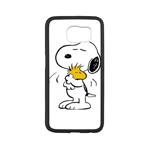 Morimo Custom Protective Phone Case for SamSung Galaxy S6,Funny Cartoon Snoopy peanuts Laster Technology Nice Quality Plastic and TPU (Snoopy S5 Case)