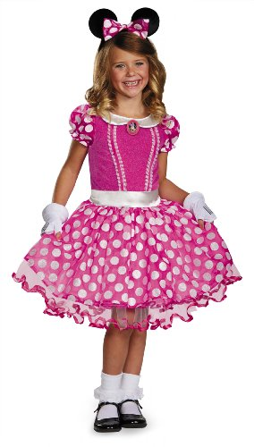 (Disguise Disney's Mickey Mouse Clubhouse Pink Minnie Tutu Prestige Girls Costume,)