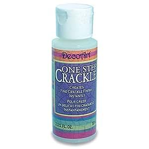 DecoArt One Step Crackle Paint, 2-Ounce