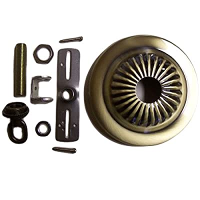 Canopy Kit Bronze Hard-Wire Assembly