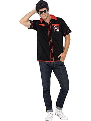 - Smiffys 50s Bowling Shirt