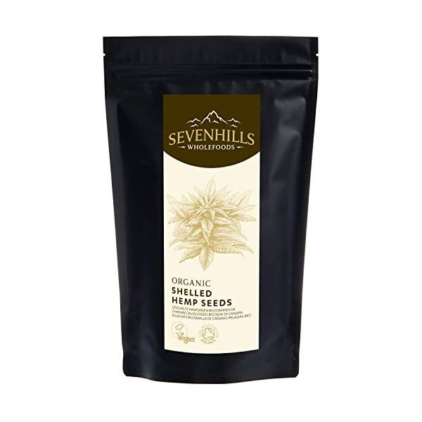 Sevenhills Wholefoods Organic Shelled Hemp Seeds 2kg