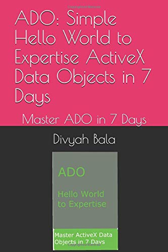 Activex data objects (ado) ppt download.