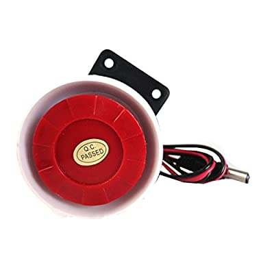Generic Home Safe Alarm120db indoor siren for GSM alarm with 3.5mm connector IS-01