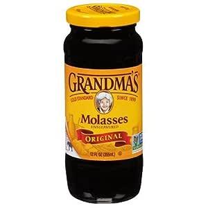 Grandmas Regular Molasses 12.0 OZ (Pack of 2)
