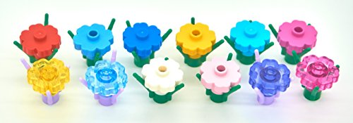 LEGO Wild Flower 12 Pack (Includes Rare/Retired Colors)