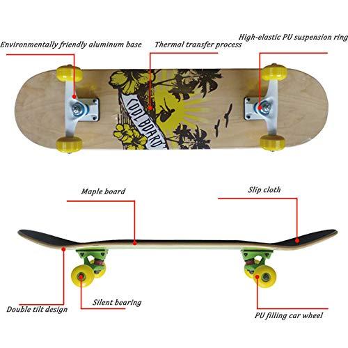 Skateboard Jungen Und Und Und Mädchen Reise Allrad Scooter Anfänger Double Rocker B07NP7L6MD Skateboards Qualität und Verbraucher an erster Stelle e2cc0a
