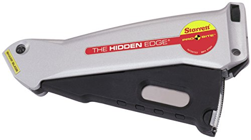 L S  Starrett   S011 Utility Knife W  Hidden Edge   681 67584