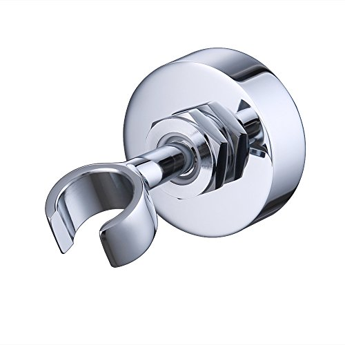 KES C213 Brass Shower Head Bracket Holder Stepless Adjustable Wall Mount, Polished Chrome - Chrome Wall Mount Bracket