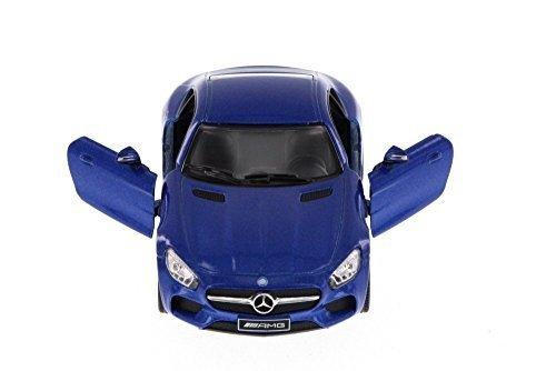 Kinsmart Mercedes-Benz AMG GT, Blue 5388D - 1/36 Scale Diecast Model Toy Car