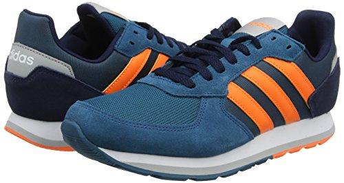 Teal Haute Navy Collegiate S18 Homme Pour De real Pied Orange Bleu 8k Chaussures Rsolution Course Adidas 7xaZpp