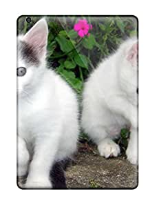 Anti-scratch And Shatterproof Cat Phone Case For Ipad Air/ High Quality Tpu Case