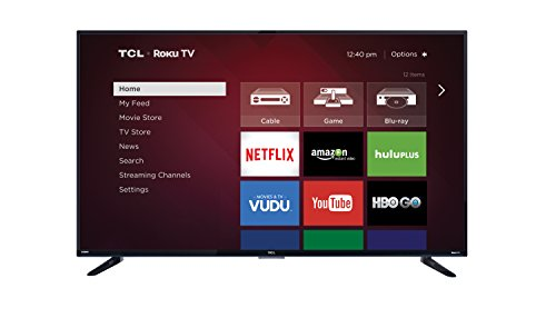 TCL 55FS3750 55-Inch 1080p Roku Smart LED TV (2016 Model)