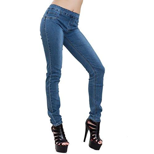 Slim Elasticizzati Denim Toocool Donna Pantaloni Aderenti Jeans Sexy Curvy L925 xCwIB7wqnF