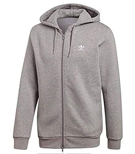 Trefoil Medium Capuche À Sweat Grey Fleece Adidas PwSOXxqdP