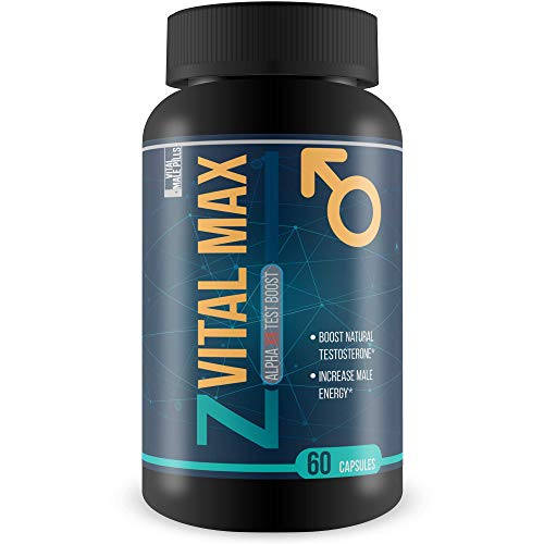 Z Vital Max - Alpha XR Test Boost - Help Boost Natural Testosterone - Increase Male Energy -
