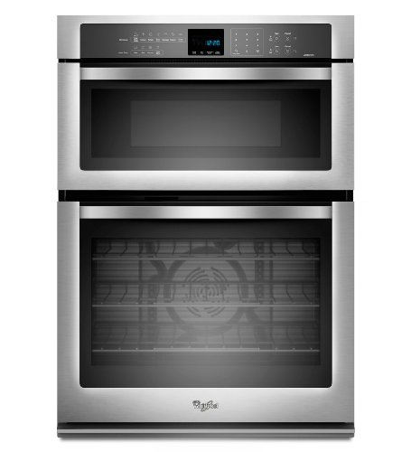 Whirlpool WOC95EC0AS 30″ Stainless Steel Electric Combination Wall Oven – Convection