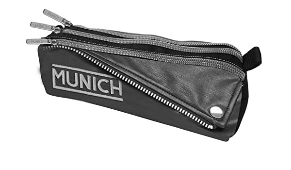 Munich Bikers Estuches, 23 cm, 1 Litro, Negro: Amazon.es ...
