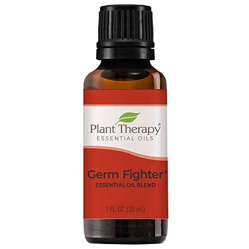 Plant Therapy Germ Fighter Essential Oil Blend 100% Pure, Undiluted, Natural Aromatherapy, Therapeutic Grade 30 mL (1 oz…