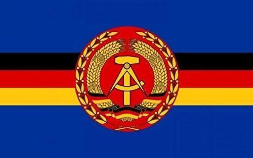 U24 Fahne Flagge DDR Volksmarine f/ür Hilfsschiffe Bootsflagge Premiumqualit/ät 40 x 60 cm