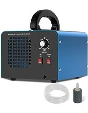 Ozongenerator 28,000 mg/h, ozongenerator luchtreiniger/ontgeurder met 120 minuten timer, O3-ozongenerator met hoge capaciteit met twee reinigingsmodi, schone geuren/vervuiling voor 15-300㎡