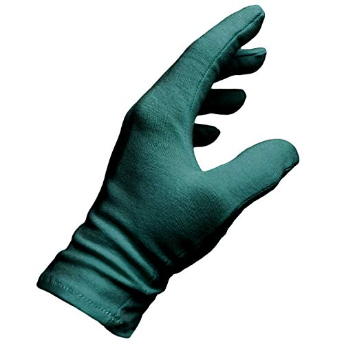Malcolm's Miracle MEN's XL Moisturizing Gloves Made in the USA (Teal)