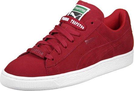 Puma x Trapstar Suede Calzado barbados cherry/white