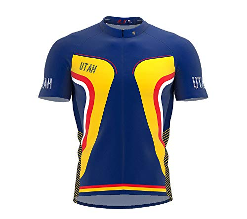 (ScudoPro Utah Bike Short Sleeve Cycling Jersey for Men - Size 2XL )