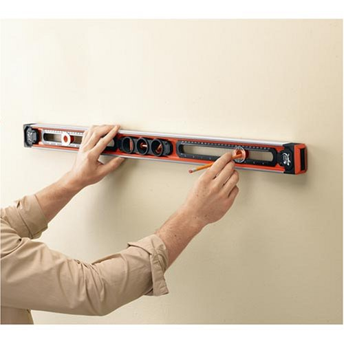 Black Decker Bdsl10 36 Inch Gecko Grip Level With Accu Mark