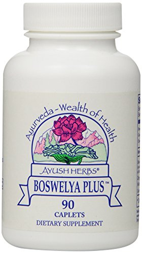 Ayush Herbs Boswelya Plus Herbal Supplement, 90 Count