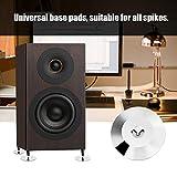 Vipxyc 8 Pcs Speaker Mat, 8 Pcs Speaker Isolation