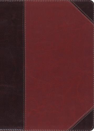 The MacArthur Study Bible: English Standard Verson, Brown/Cordovan, Trutone, Portfolio Design