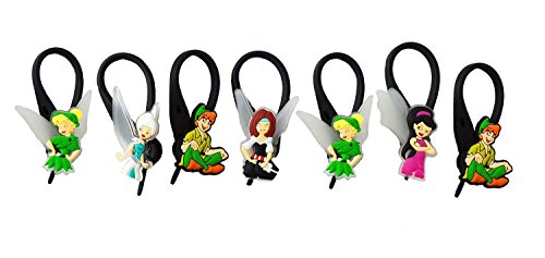 AVIRGO 7 pcs Soft Zipper Pull Charms for Backpack Bag Pendant Jacket Set # 82-3 by (Crocodile From Peter Pan Costume)