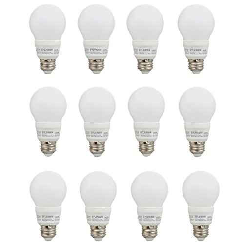 Sylvania A19 40W 120V E26 Non-Dimmable White Frosted LED ...