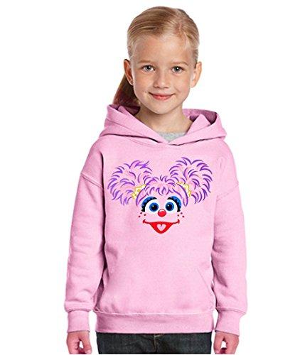 Sesame Street Abby Cadabby Toddler Hoodie-5T Light Pink -